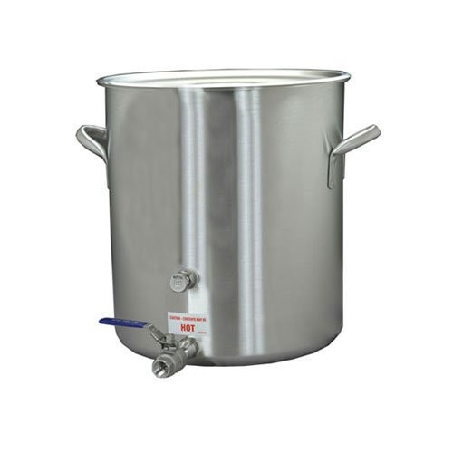 Using a 20 gallon brew kettle gives you room for those bigger brews