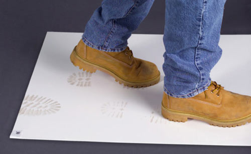 employ a tacky mat as a new member of your cleaning staff